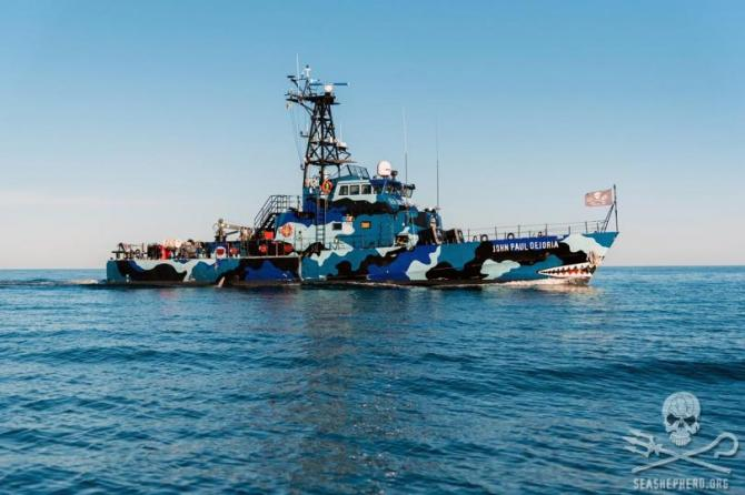 Sea Shepherd ship Jean Paul DeJoria